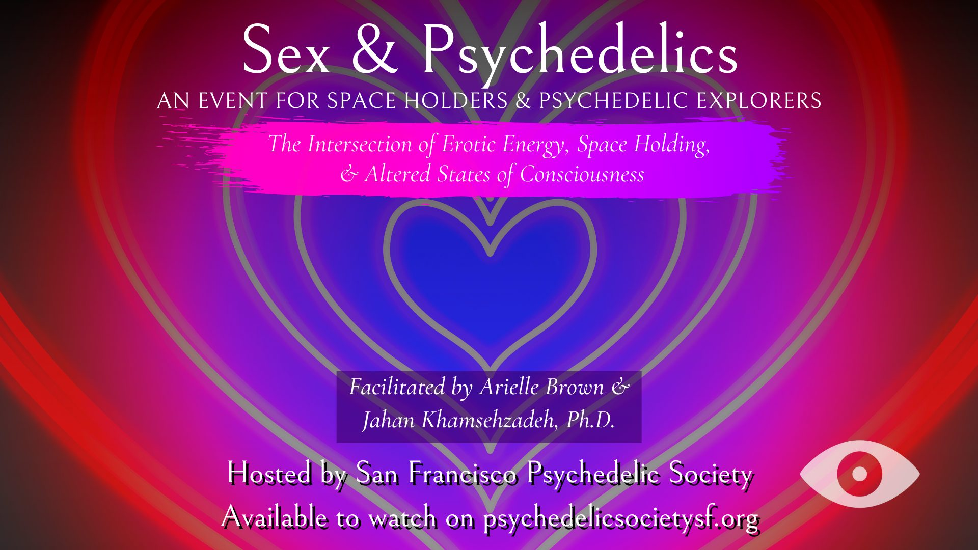 Sex and Psychedelics The Intersection of Erotic Energy, Space Holding, & Altered States of Consciousness
